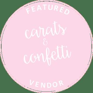 carats and confetti Vendor-Light-Pink