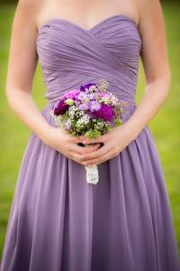 Bridesmaid bouquet 1