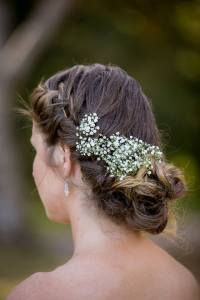 Gypsophila hair accent