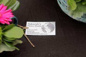 Sakurah's Flower Studio, PEI