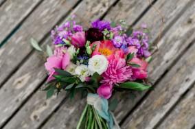 Multi-colour summer bouquet