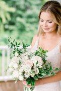 Soft whites and foliage